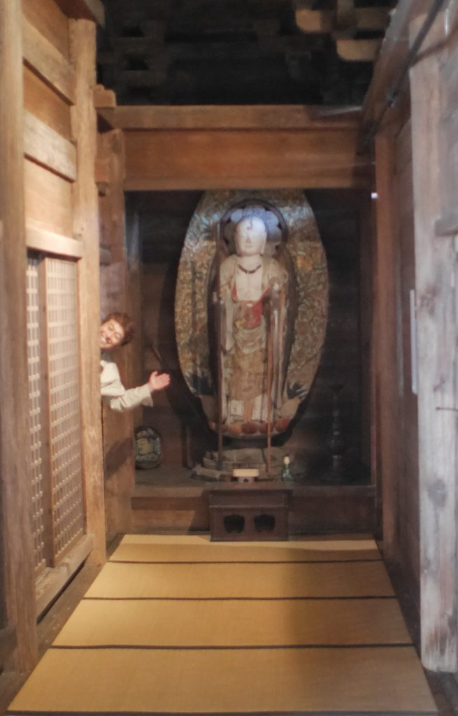 キッチュな感じで仏像を紹介する魚住さん