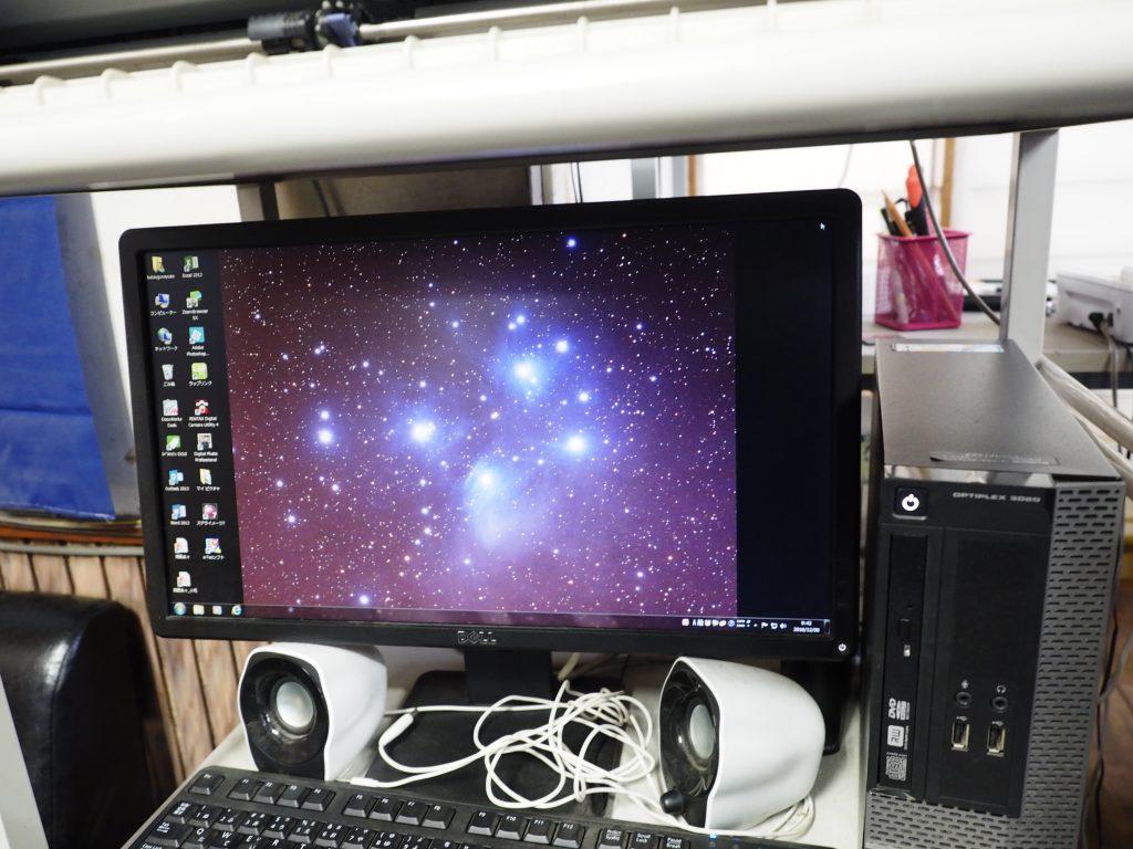 西さんのデスクトップ